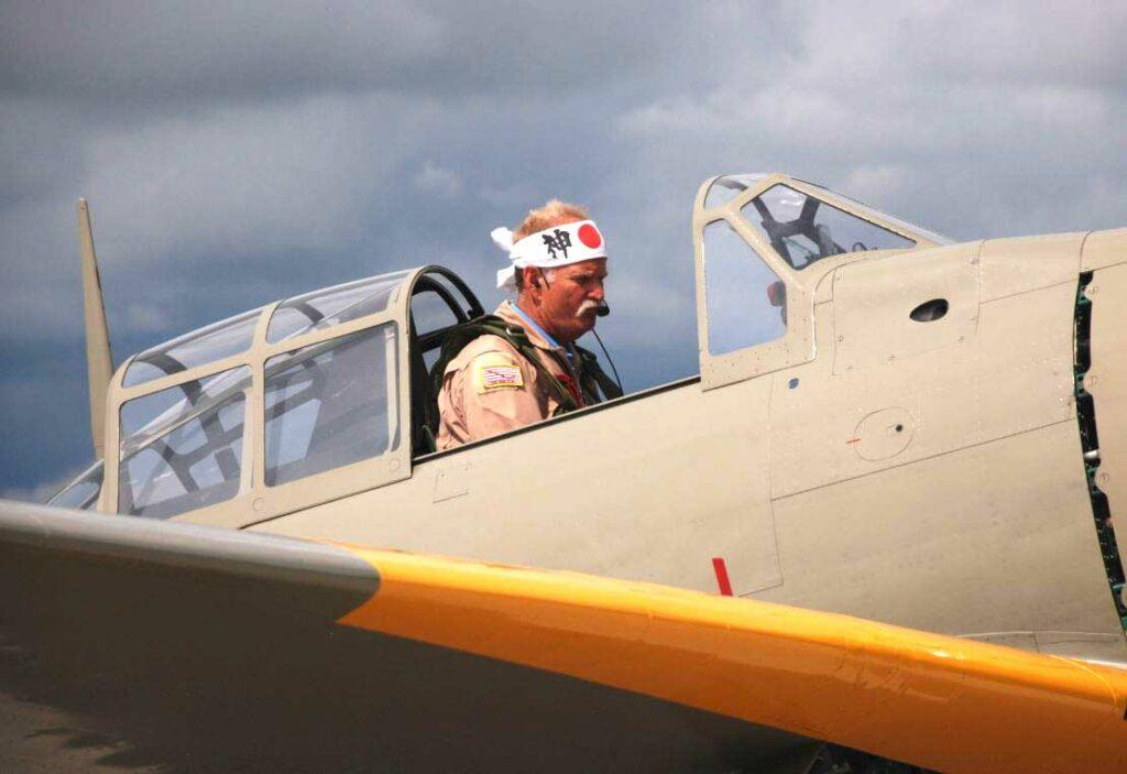 Japanese Zero Pilot