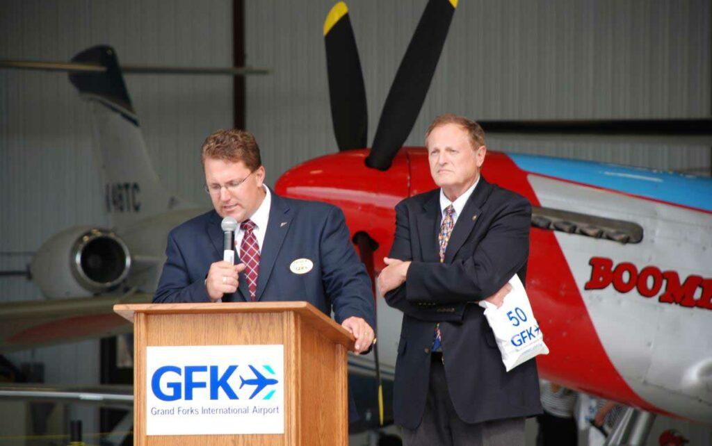 Patrick Dame And Mayor Michael Brown2