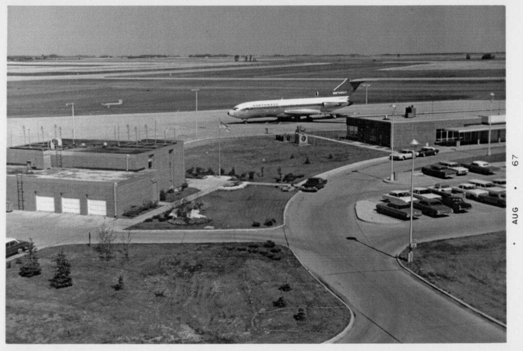 FAA Flight Service Station - 1965