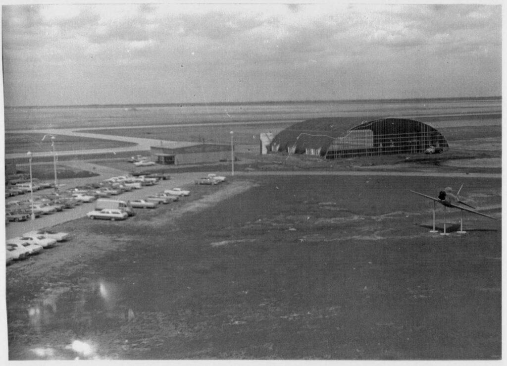 Round-top Hangar - 1968