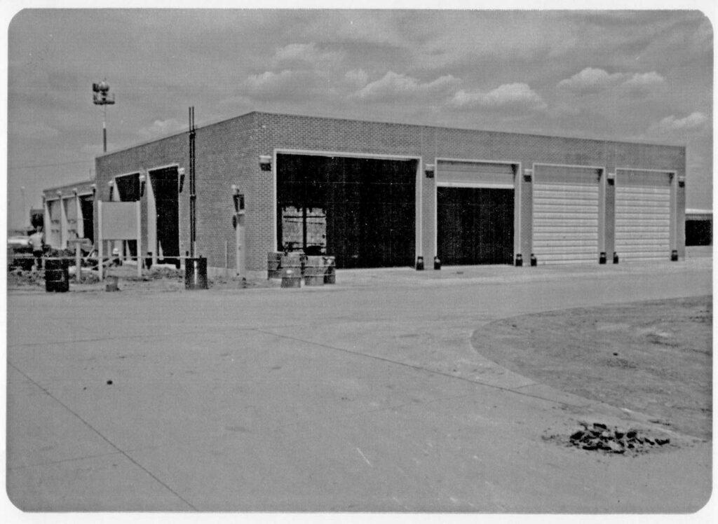Equipment Storage Building - 1974