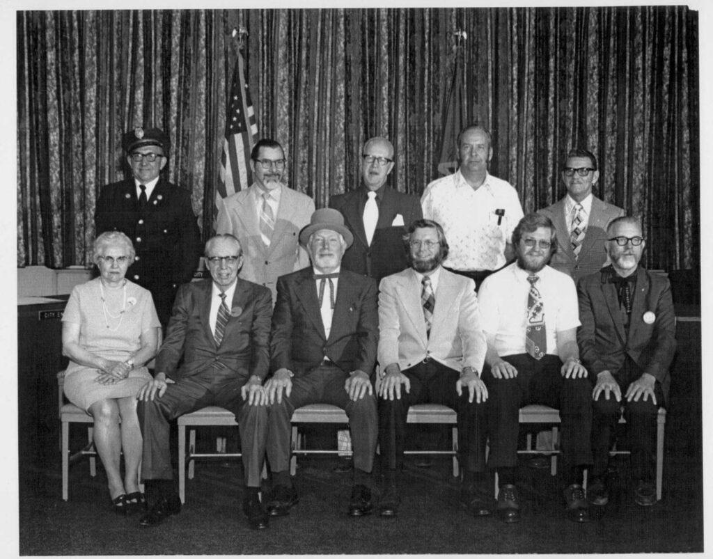 City of Grand Forks Officials for Centennial - 1974