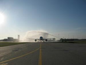 Honor Flight Salute