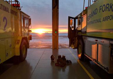 GFK ARFF Trucks Winter 2019